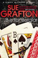 B is for Burglar: A Kinsey Millhone Novel 2