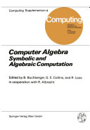 Computer Algebra [Pdf/ePub] eBook