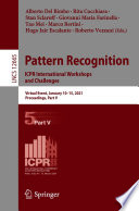 Pattern Recognition  ICPR International Workshops and Challenges