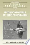 Hydrodynamics Of Ship Propellers Book PDF
