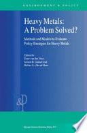 Heavy Metals A Problem Solved  Book PDF