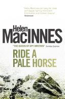 Pdf Ride a Pale Horse