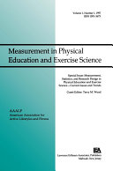 Measurement  Statistics  and Research Design in Physical Education and Exercise Science  Current Issues and Trends