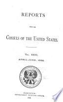 Consular Reports Book PDF