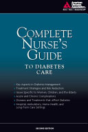 Ada The Complete Nurse S Guide To Diabetes Second Edition