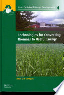 Technologies for Converting Biomass to Useful Energy Book
