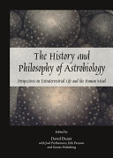 The History and Philosophy of Astrobiology