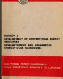 Compte rendu   Conference Mondiale de L   nergie Book