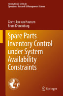 Spare Parts Inventory Control under System Availability Constraints
