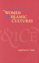 Encyclopedia Of Women Islamic Cultures Supplement Index