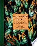 Old World Italian Book PDF