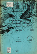 An Outline of the Geography and Geology of Zambia
