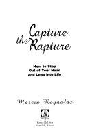 Capture the Rapture Book PDF