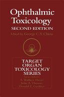 Ophthalmic Toxicology Pdf/ePub eBook