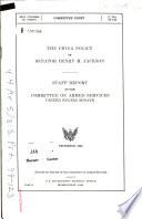 The China Policy of Senator Henry M  Jackson Book PDF