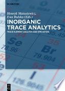 Inorganic Trace Analytics Book PDF