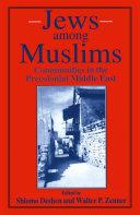 Pdf Jews among Muslims Telecharger
