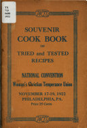 Souvenir Cook Book Of Tried And Tested Recipes
