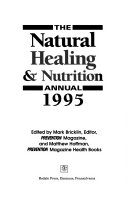 The Natural Healing   Nutrition Annual  1995