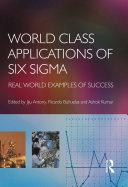 Pdf World Class Applications of Six Sigma Telecharger