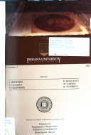 Indiana University Mathematics Journal