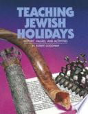 Teaching Jewish Holidays Book