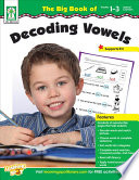 Big Book Of Decoding Vowels Grades 1 3