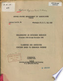 Bibliography On Extension Research November 1943 Through December 1948