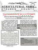 Steuben County Agricultural News