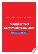 """Marketing Communications: Objectives, Strategy, Tactics"" by John R Rossiter, Larry Percy, Lars Bergkvist"