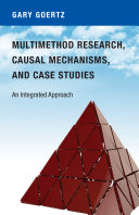 Multimethod Research  Causal Mechanisms  and Case Studies