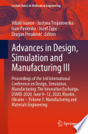 Advances in Design  Simulation and Manufacturing III Book