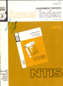Government Reports Index Book