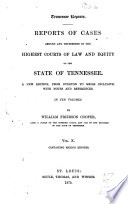 Tennessee Reports