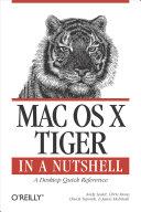 Pdf Mac OS X Tiger in a Nutshell