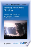 Planetary Atmospheric Electricity Book PDF
