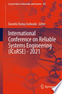 International Conference on Reliable Systems Engineering  ICoRSE    2021 Book