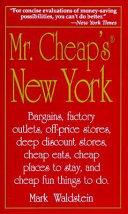Mr  Cheap s New York