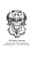 The Ranuzzi manuscripts