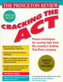 Cracking the ACT 1997-98