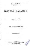 Ballou's Dollar Monthly Magazine