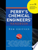 PERRY'S CHEMICAL ENGINEER'S HANDBOOK 8/E SECTION 18 LIQUID-SOLID OPER&EQUP (POD)