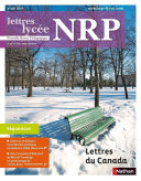 NRP Lycée - Lettres du Canada - Mars 2016 (Format PDF) Pdf/ePub eBook