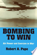 Bombing to Win Book