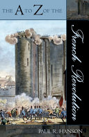 Pdf The A to Z of the French Revolution Telecharger