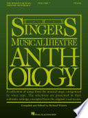 The Singer s Musical Theatre Anthology   Volume 7 Tenor