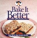 Bake It Better With Quaker Oats