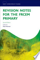 """Revision Notes for the FRCEM Primary"" by Mark Harrison"