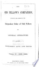 The Odd Fellow s Companion