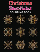 Christmas Snowflake Coloring Book